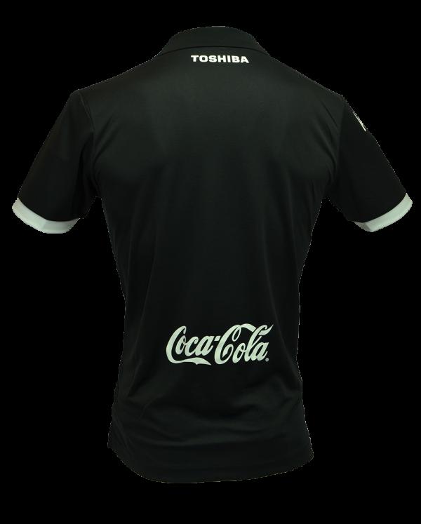 เสื้อเมืองทอง 2017 ทีมเยือน สีเงิน ด้านหลัง
