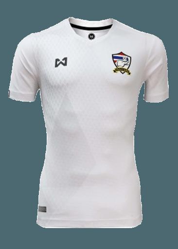 เสื้อทีมชาติไทย เกรดแฟนบอล สีขาว ด้านหลัง - shoptoro