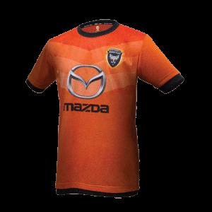 เสื้อนครราชสีมา ทีมเหย้า 2017 สีส้ม
