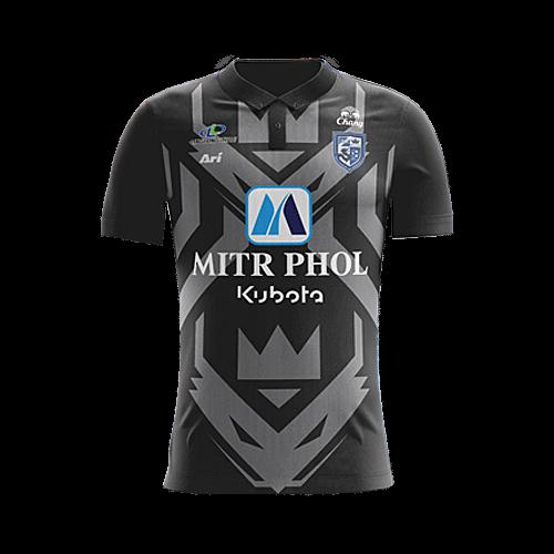 เสื้อราชบุรี 2017 สีดำ