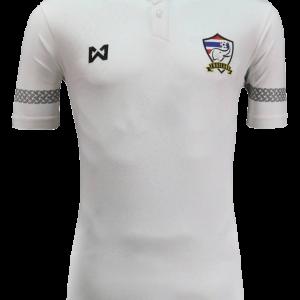 เสื้อทีมชาติไทย เกรดแฟนบอล สีขาว - shoptoro