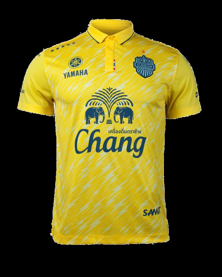 เสื้อบุรีรัมย์ 2018 สีเหลือง