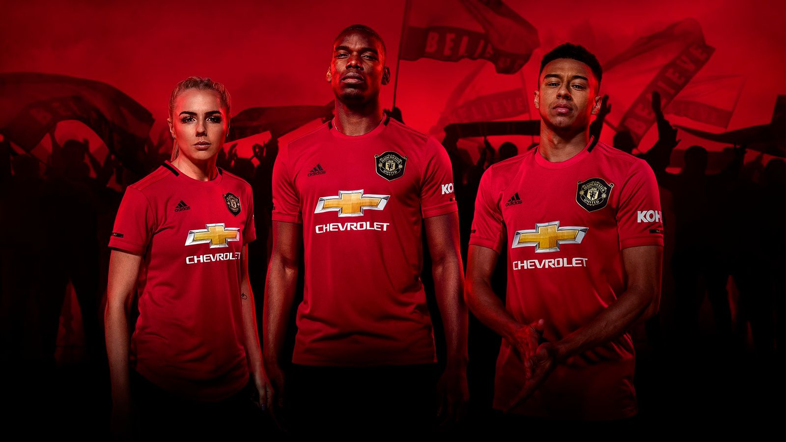 เปิดตัวชุดแข่ง!! เสื้อแมนยู ฤดูกาล 2019 – 2020